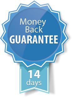 14 Tage Geld-zurück-Garantie