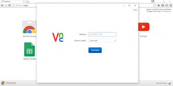 VNC Viewer for Google Chrome