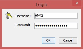 KVM over IP, Username and Password