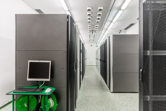 The most modern server room S3 meets all standards and certification