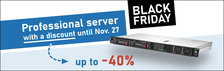 Black Friday of dedicated server is here!