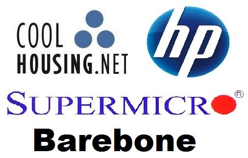 Coolhousing + SuperMicro + HP + Barebone