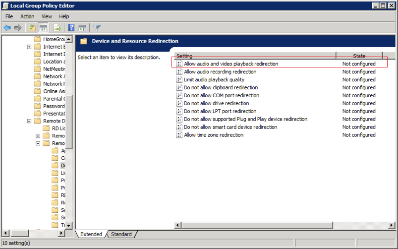 Sounds in VPS Windows using RDP ~ COOLHOUSING s r o