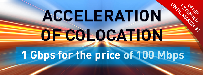 Acceleration of Colocation is extended